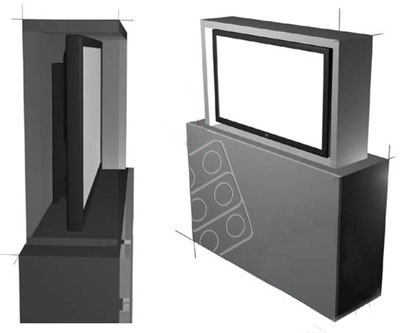 Winda TV F-lift 65 VIZ-ART